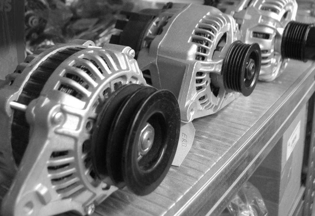 Alternators in LA Distribution Warehouse - Auto Parts